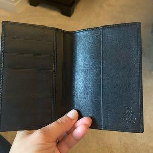 Gucci passport wallet